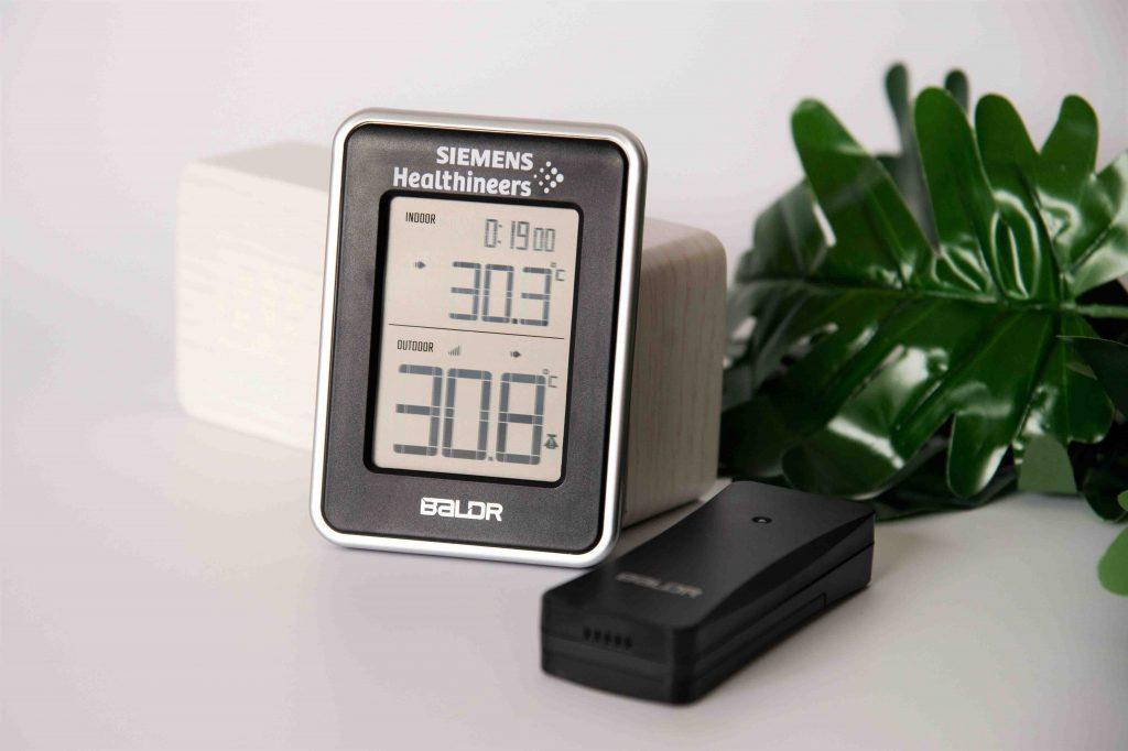 Thiết bị đo nhiệt độ & độ ẩm - 2 vị trí.