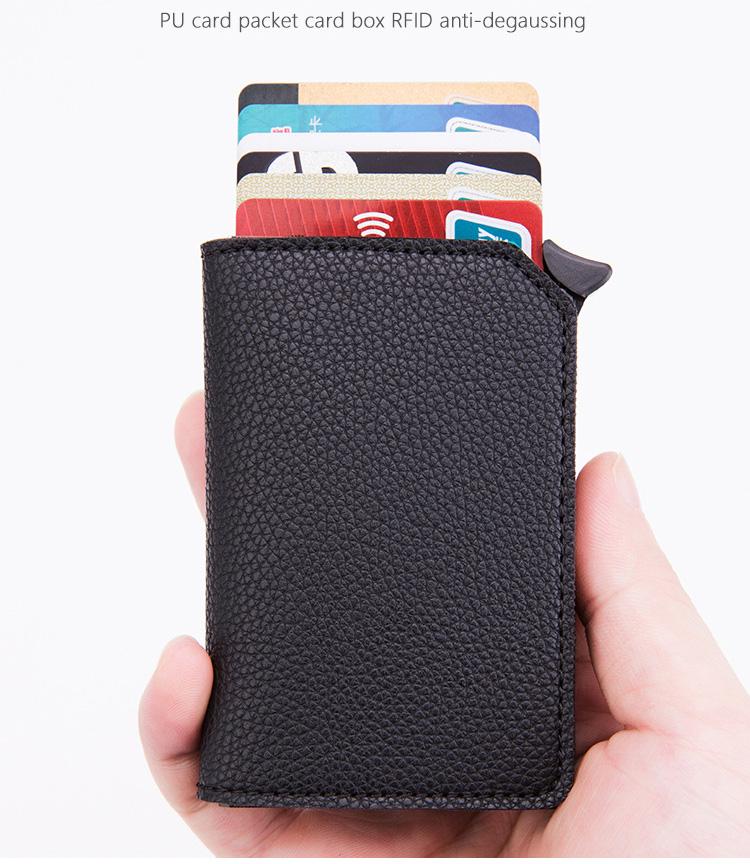 ví đựng thẻ chống trộm dữ liệu RFID